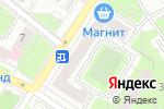 Схема проезда до компании Арт Оттенок в Москве