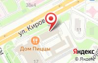 Схема проезда до компании Evro-Cars в Подольске