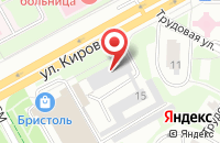 Схема проезда до компании МО Кадастр в Подольске