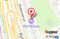 Схема проезда до компании Знак в Москве