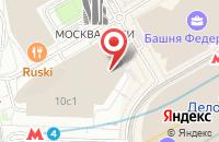 Схема проезда до компании Вебтрансфер Финанс в Москве