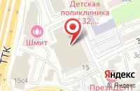 Схема проезда до компании Завод Порошковых Материалов в Москве