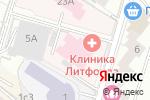 Схема проезда до компании Ремонт окон Аэропорт в Москве