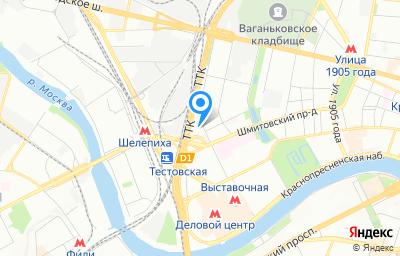 Местоположение на карте пункта техосмотра по адресу г Москва, ул Антонова-Овсеенко, д 15 стр 1