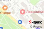 Схема проезда до компании ЛОР клиника номер 1 в Москве