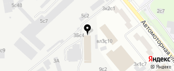 АВТОБАН-ЕВРО на карте Москвы