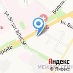 Глобус-Мебель на карте Подольска