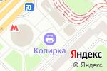 Схема проезда до компании Читарик в Москве