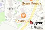 Схема проезда до компании Воронежский мед в Москве