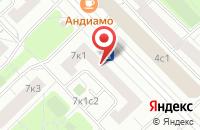 Схема проезда до компании Аргумент-Медиа в Москве