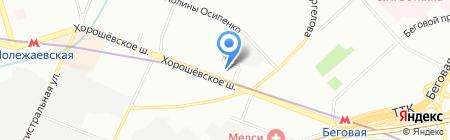 Дилижанс-Миллениум на карте Москвы