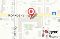 Схема проезда до компании Красная горка в Подольске