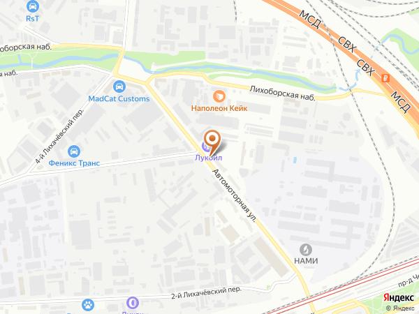 Остановка Автомоторная ул. в Москве