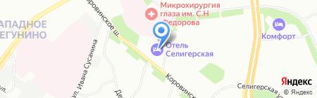 Криал строй на карте Москвы
