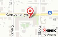 Схема проезда до компании Московский в Подольске