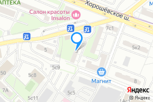 Снять однокомнатную квартиру в Москве 2-й Хорошёвский пр., 3