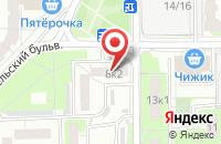 Схема проезда до компании Студио Рекордз в Москве