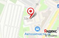 Схема проезда до компании Белая орхидея в Подольске