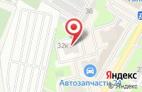 Схема проезда до компании Эстер в Подольске