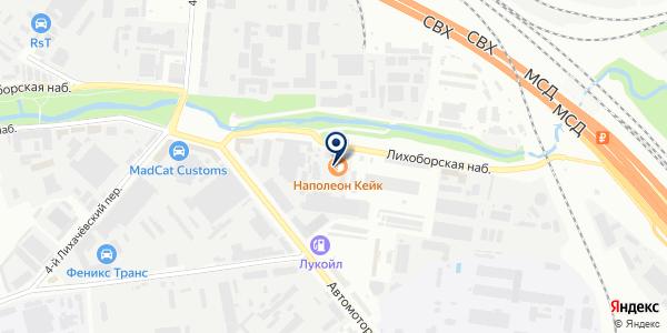 ЗАПРАВКА 5 на карте Москве