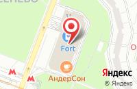 Схема проезда до компании Строительная компания  в Москве