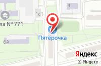 Схема проезда до компании Колорит в Москве
