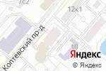 Схема проезда до компании Стеклострой в Москве