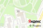 Схема проезда до компании Детская улыбка в Москве