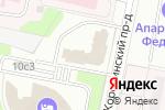 Схема проезда до компании Лизинг-Медицина в Москве