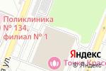 Схема проезда до компании Sportgun в Москве