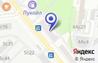 Схема проезда до компании МЕБЕЛЬНАЯ ФАБРИКА МАРТА в Москве