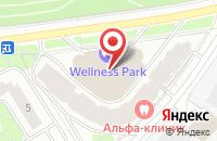 Схема проезда до компании Генподряд-Сервис в Москве