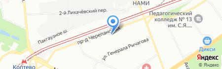 Мария Тим на карте Москвы