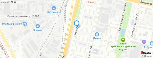 улица Подвойского