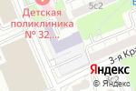 Схема проезда до компании Автомобильная школа в Москве
