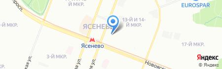 Gipfel на карте Москвы