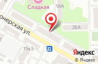 Схема проезда до компании Сонар в Подольске