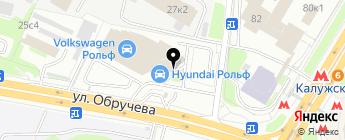 Рольф Юг на карте Москвы