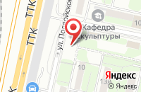 Схема проезда до компании Медиарама.ру в Москве
