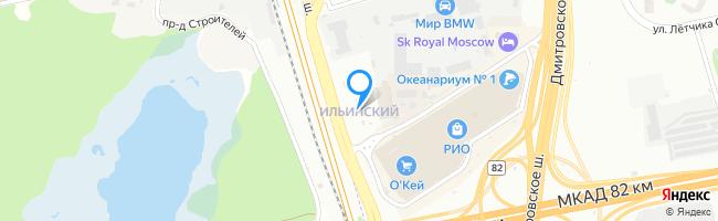 посёлок Ильинский