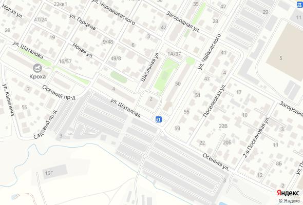 жилой комплекс На ул. Шаталова