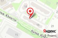 Схема проезда до компании Лохматикофф в Подольске