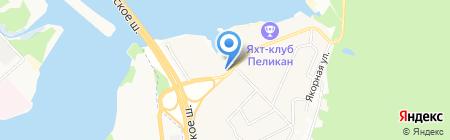 Адмирал на карте Грибков