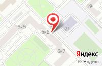 Схема проезда до компании Мобильное Строительное Управление «Монолитстрой» в Москве