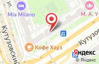 Схема проезда до компании Галактика в Москве