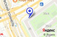 Схема проезда до компании МЕБЕЛЬНЫЙ САЛОН VERONA DESIGN в Москве