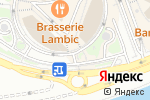 Схема проезда до компании Кантата в Москве