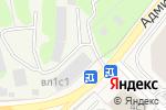 Схема проезда до компании СУПЕР МАРИН в Грибках