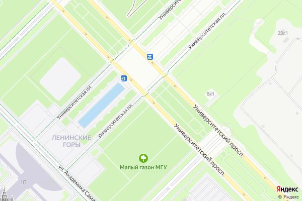 Ремонт телевизоров Университетский проспект на яндекс карте