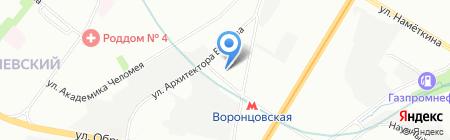 Вестник Конституционного суда РФ на карте Москвы